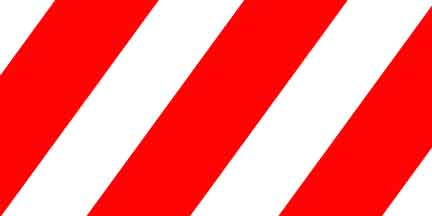 FLG SWR - Red/White Striped Flagging